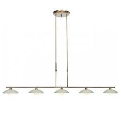 **Klassieke hanglamp Aleppo brons 5508BR