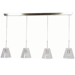 *Hanglamp Nice glas helder 5968ST