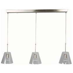 *Hanglamp Nice glas helder 7864 st