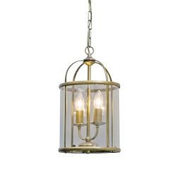 **Hanglamp Pimpernel brons/Glas 5971BR