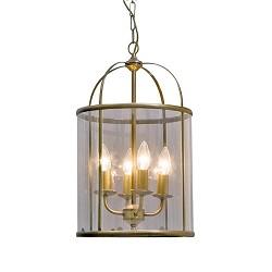 **Hanglamp Pimpernel brons/Glas 5972BR