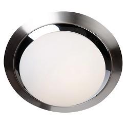 Badkamerlamp rond chroom/nikkel 6754ST