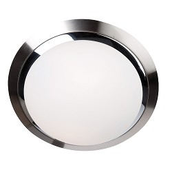 Badkamerlamp rond chroom nikkel 6756ST