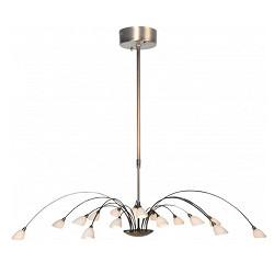 Klassieke hanglamp brons Tarda