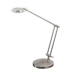 *Moderne LED bureaulamp nikkel dimbaar