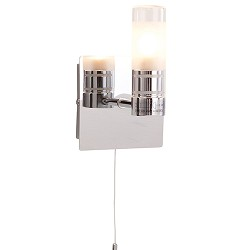 **Badkamer wandlamp  IP44 schakelaar
