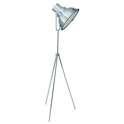 **Industr. staande lamp driepoot staal
