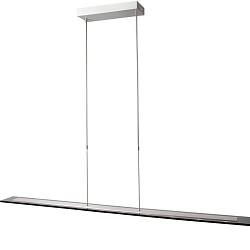 *Hanglamp LED glasplaat eettafel/bureau
