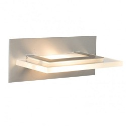 *Wandlamp Humilus LED staal modern