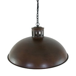 Landelijk roestbruine hanglamp Yorkshire