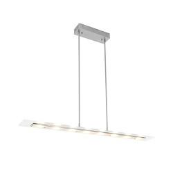 Strakke LED hanglamp 100 cm met dimmer