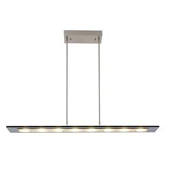 Moderne LED hanglamp glas 100 cm dimbaar