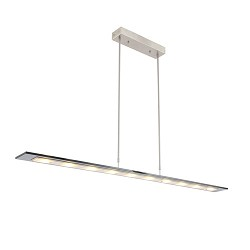 LED hanglamp smoke glas 140 cm dimbaar
