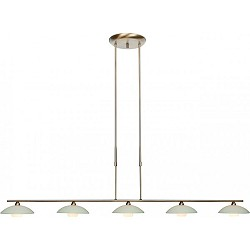 *LED eettafel hanglamp Monarch brons