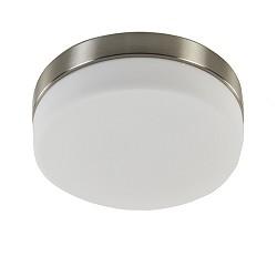 Plafondlamp rond 22cm led ip44 3st.dimb.