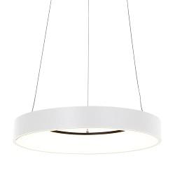 Moderne LED hanglamp witte ring