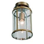 Plafondlamp Pimpernel brons/Glas 5973BR