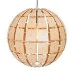 *Houten hanglamp Woody bol steinhauer