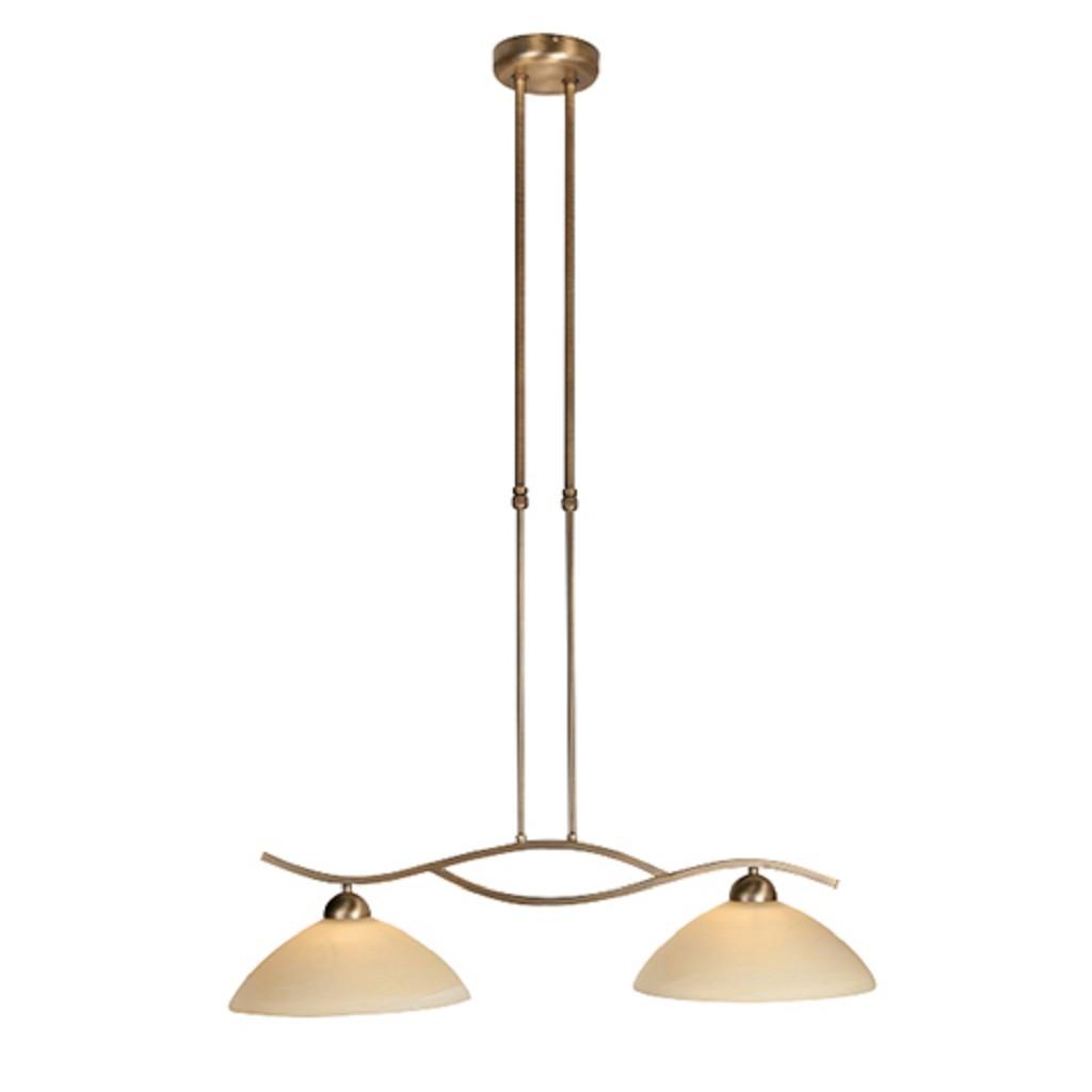 Hanglamp Capri brons/Glas 6836BR