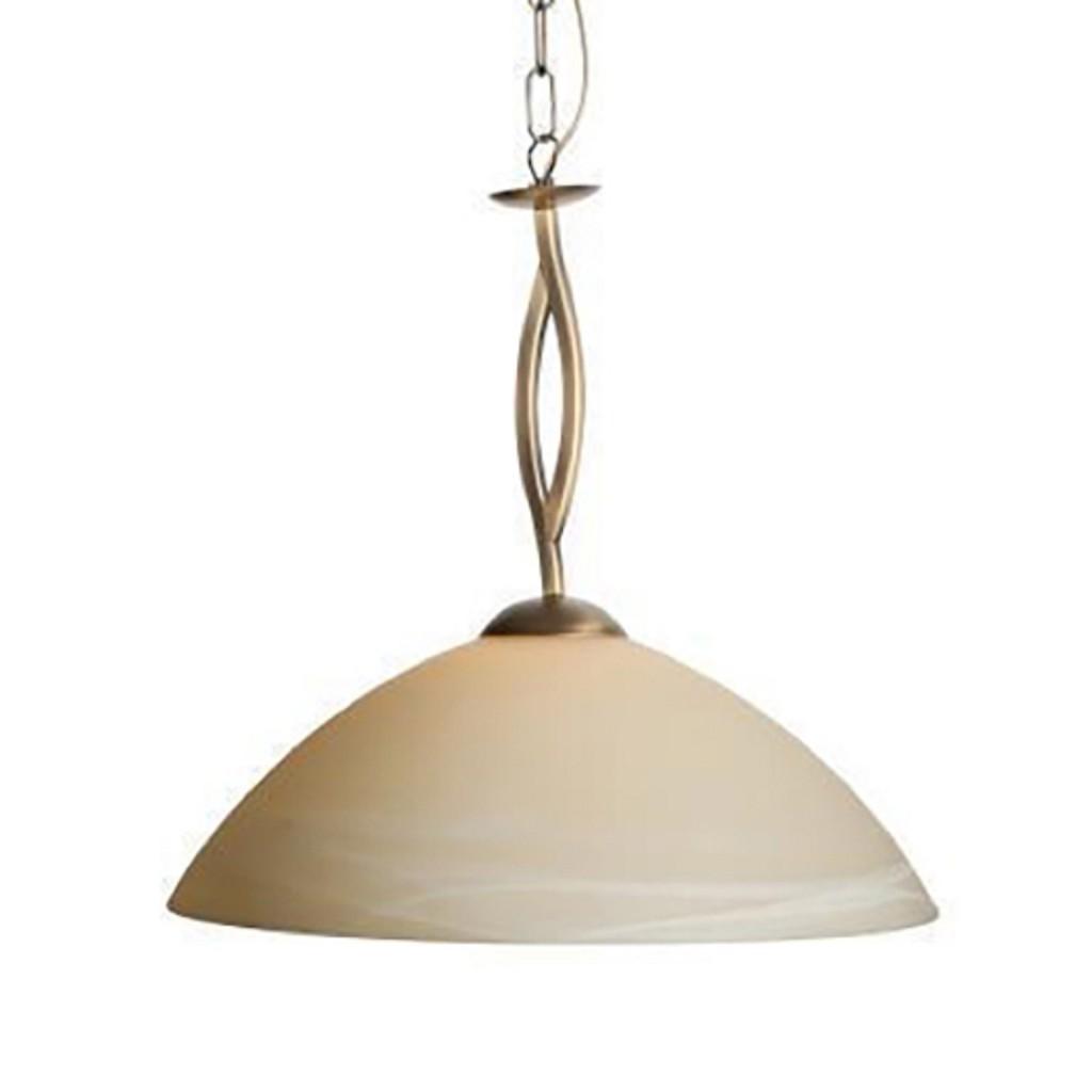 Hanglamp Capri brons/Glas 6839BR