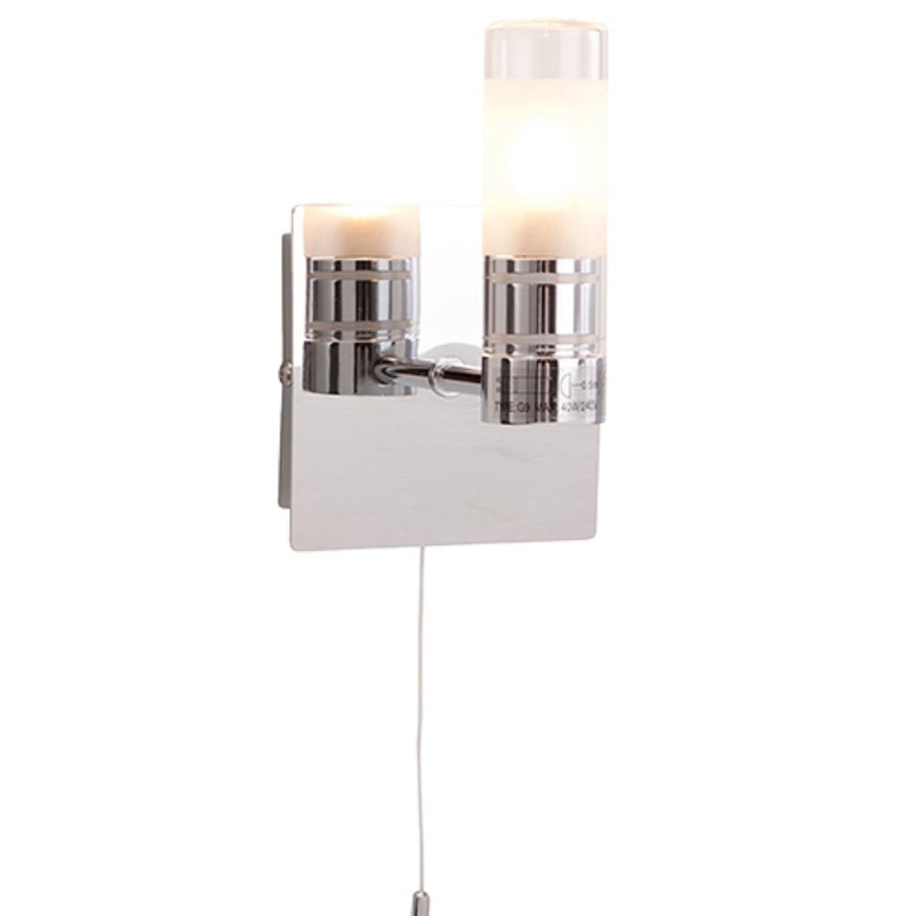 Bekend Badkamer wandlamp IP44 schakelaar   Straluma VU86