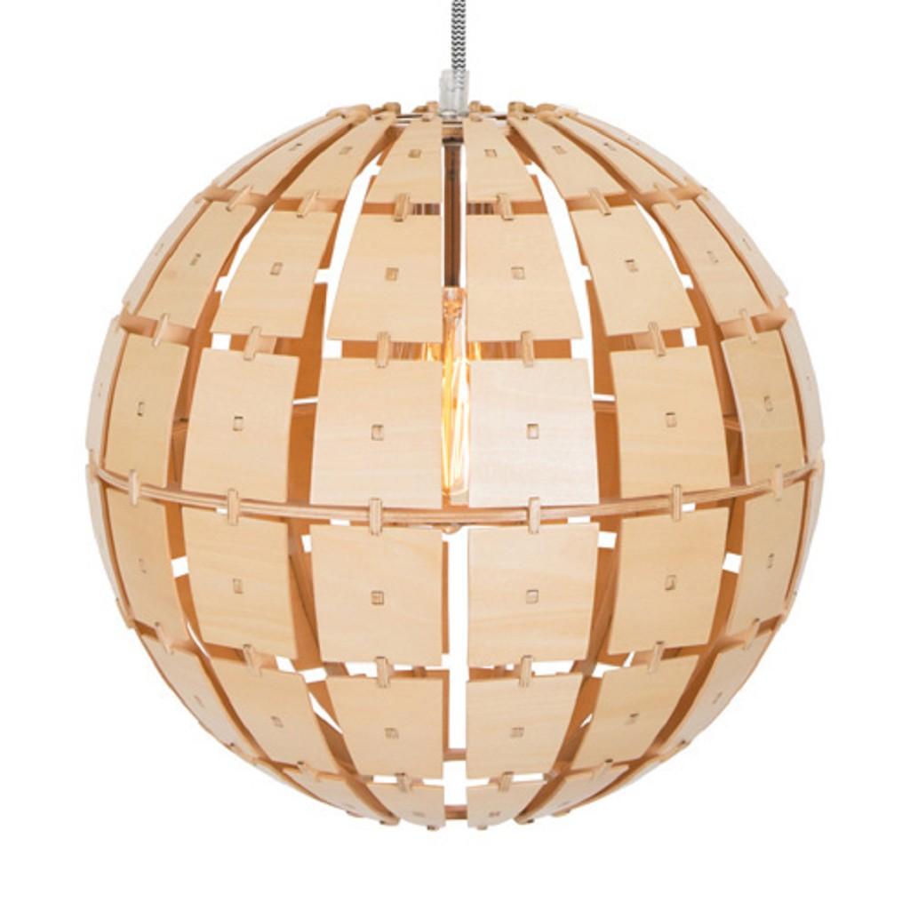 Houten hanglamp Woody bol steinhauer