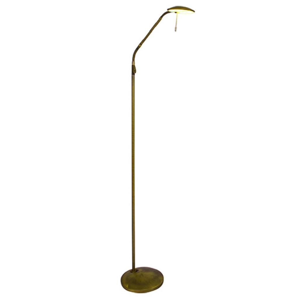 Klassieke LED leeslamp-vloerlamp dimbaar