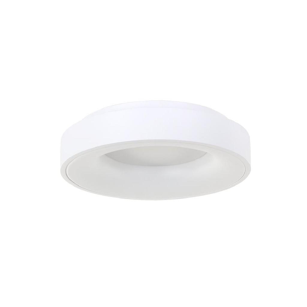 Moderne plafondlamp wit met geïntegreerd LED