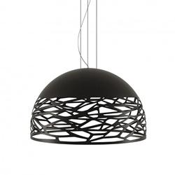 Hanglamp Kelly Dome 80cm zwart