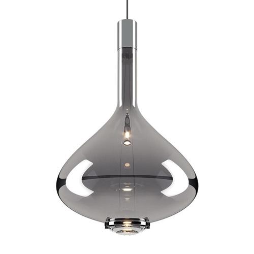 Luxe design hanglamp Sky-Fall chroom glas inclusief LED