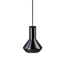 Diesel Living with Lodes hanglamp Flask A metallic black