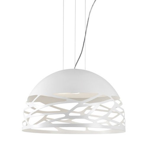 **Design hanglamp koepel Kelly wit