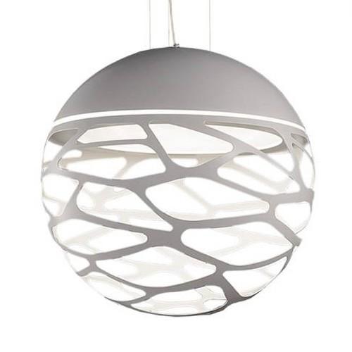Design hanglamp Kelly bol wit