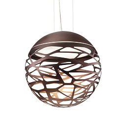 Hanglamp Kelly Sphere brons 40cm