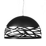 Design hanglamp koepel Kelly zwart