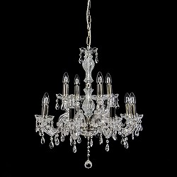 Hanglamp kroonluchter kristal 12-lichts
