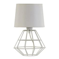 Draad tafellamp-schemerlamp wit
