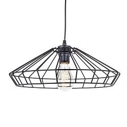 * Zwarte hanglamp draad keuken