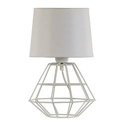 *Draad tafellamp-schemerlamp wit