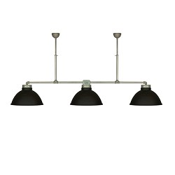 **Grote XL industriele hanglamp 3 kappen