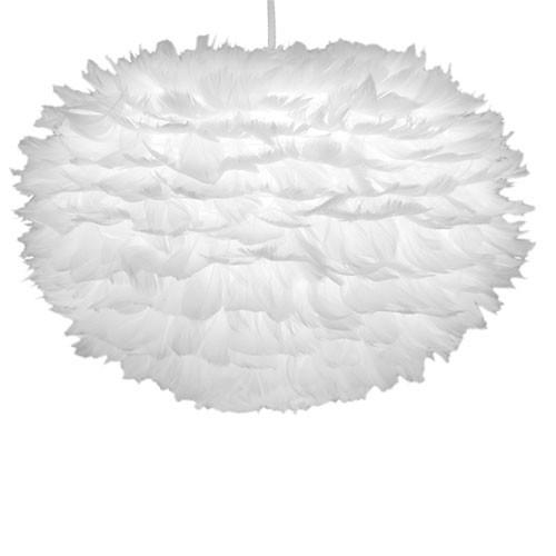 trendy hanglamp ganzenveren slaapkamer straluma