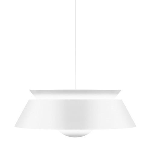 *Moderne hanglamp wit Cuna keuken
