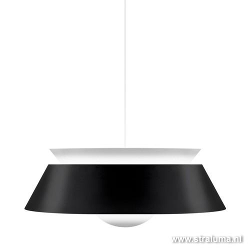 Moderne hanglamp zwart Cuna woonkamer