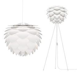 Trendy hanglamp Silvia wit keuken
