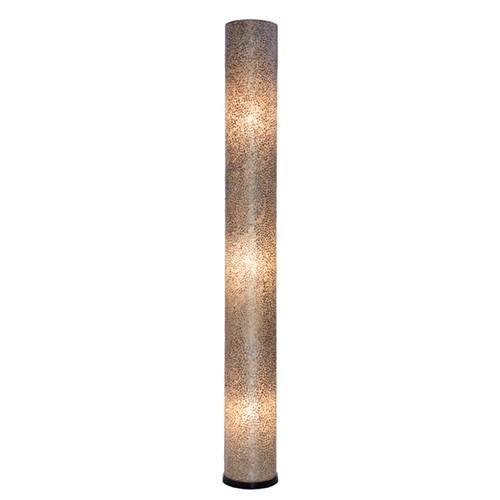 Vloerlamp cilinder capiz schelpen 200 cm