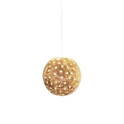 **Romantisch hanglamp bol creme 40 cm