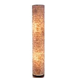 Vloerlamp 120 cm cil. creme schelpen