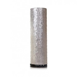 Tafellamp 40 cm cilinder creme schelpen