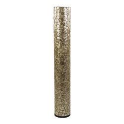 Vloerlamp Coin schelpen cilinder gold