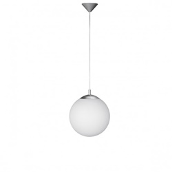 Hanglamp bol wit glas, hal-gang-keuken